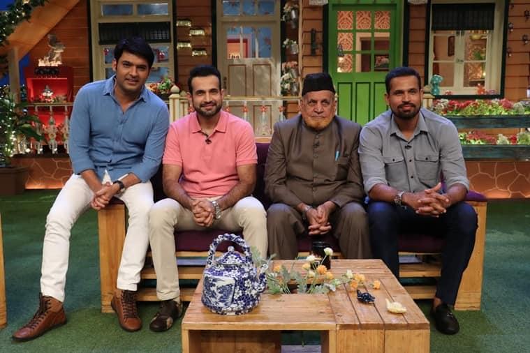 the kapil sharma show, bharti singh, kapil sharma, chandan prabhakar, kapil sharma show pics, kapil sharma bharti singh, kapil sharma pathan brothers, irfan pathan yusuf pathan