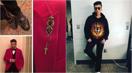 From quirky shades to cool sweatshirts: Karan Johar's recent looks might give you #OOTD goals