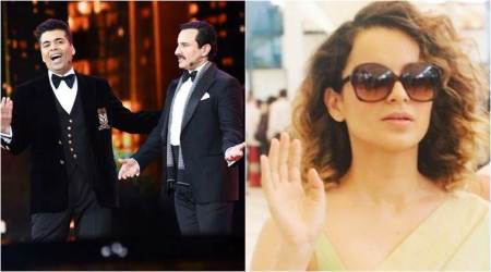 Karan Johar on Kangana Ranaut jibe at IIFA: I got carried away in the moment and I regret that