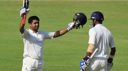 I was fortunate enough to get to play in India Test XI, says Karun Nair
