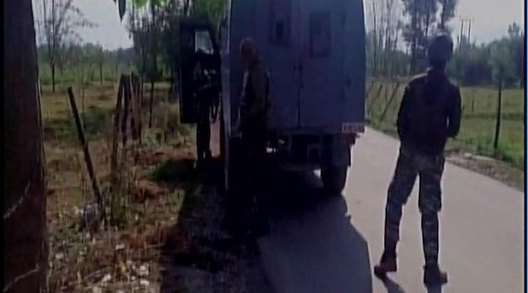 Two militants killed in encounter in south Kashmir's Tral, operation underway class=