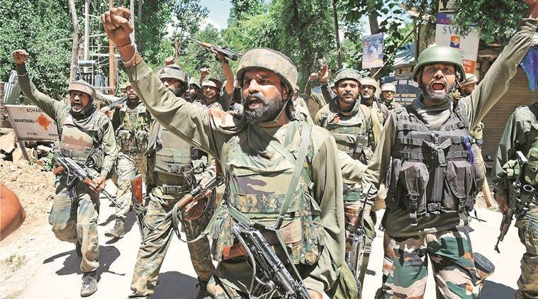 Two LeT terrorists killed in Anantnag district, security ops underway