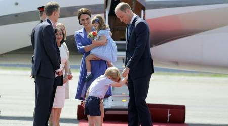 Prince William, Kate Middleton on a three-day visit to Germany