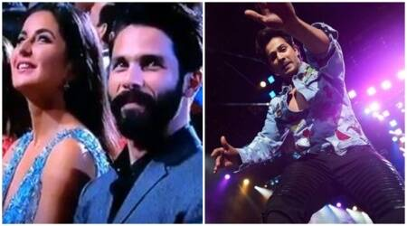 Katrina Kaif's double role to Varun Dhawan almost falling off the stage, here's why IIFA 2017 was more about goof-ups. Watch videos