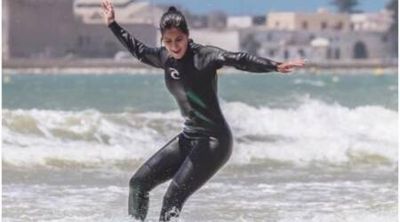Watch: Katrina Kaif is thrilled as she goes surfing in Morocco