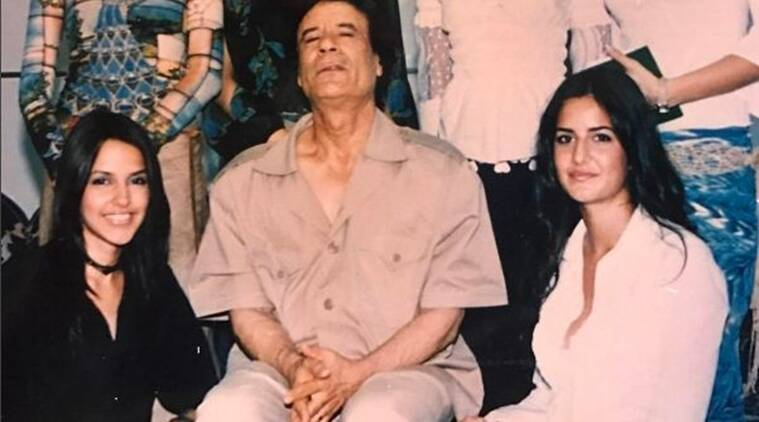 Katrina Kaif's throwback photo with Muammar Gaddafi going viral