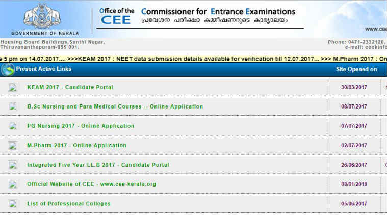 Kerala NEET 2017 Rank List Released, 45363 Students Qualify For Admission