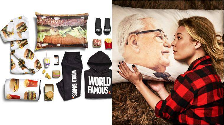 mcdonald's, kfc, mcdonald's clothes, kfc clothes and accessories, pizza hit clothes, kfc merchendise, mcdonalds merchendise, fashion news, indian express