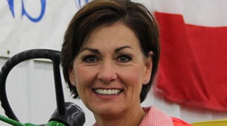Iowa Gov Kim Reynolds, Iowa Gov Kim Reynolds campaign manager, US news, world news, campaign manager arrested for urinating in the open, West Glen Town Center, US news, World news,