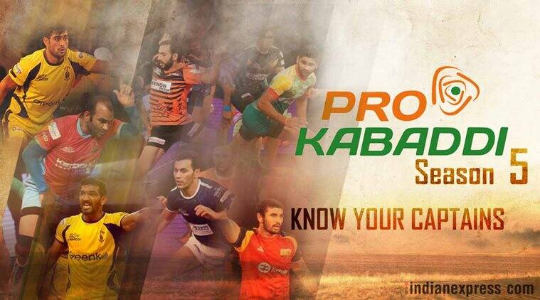 Pro Kabaddi League 2017: Meet the team captains of PKL 5