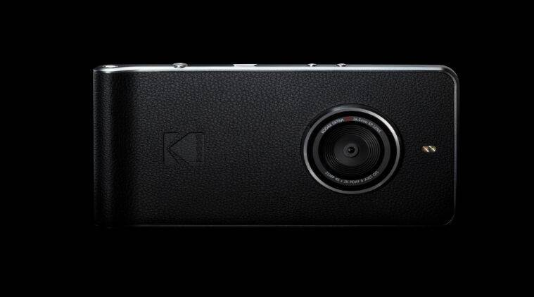Out of nowhere, Kodak releases a smartphone with ancient hardware