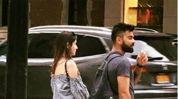 virat kohli, anushka sharma, kohli, anushka, kohli and anushka, kohli anushka in new york, indian express