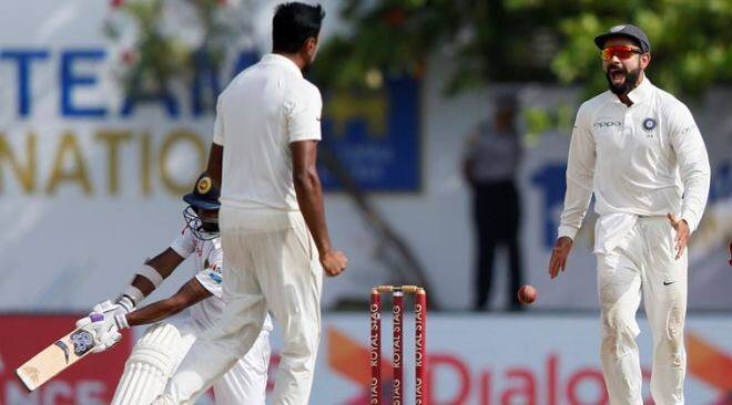India blow Sri Lanka away in opening Test at Galle, relive the 1st Test in pictures