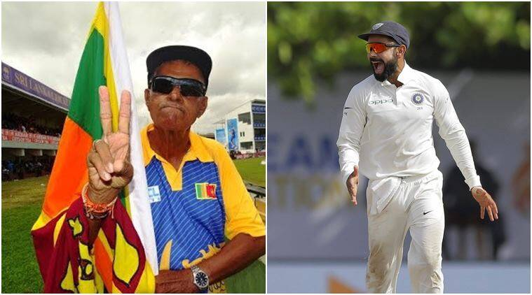 Virat Kohli, India vs Sri Lanka, Ind vs SL, India tour of Sri Lanka 2017, Percy Abeysekera, Uncle Percy, Cricket news, Indian Express