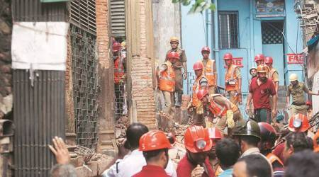 Kolkata: Century-old residential building collapses, twodead