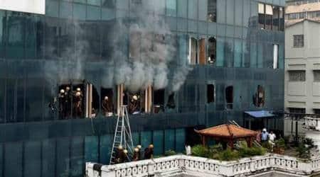 Fire in Kolkata's multi-storied office building, nocasualty
