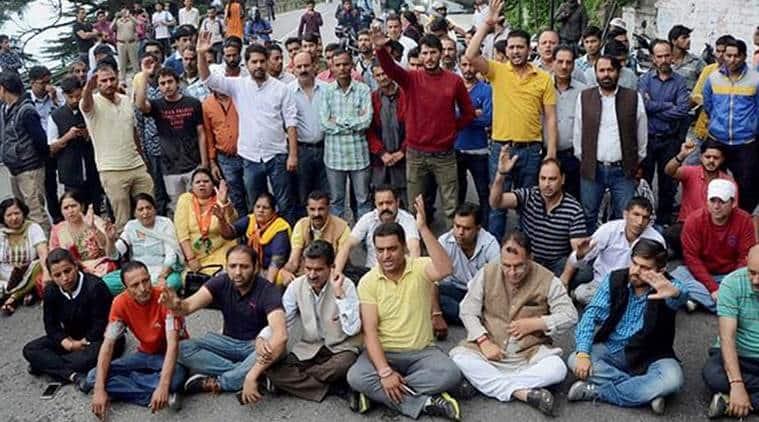 Kotkhai rape case, BJP workers