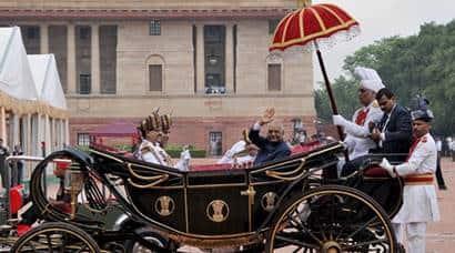 Ram nath kovind, president-elect Kovind, kovind sworn in, kovind oath taking