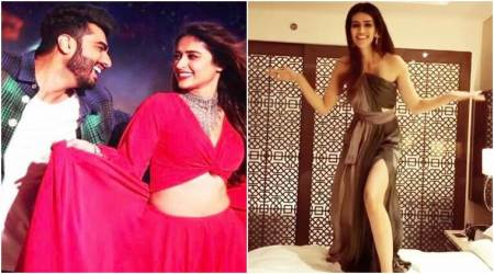 Mubarakan: Kriti Sanon does some 'palang tod naach' on Hawa Hawa and Arjun Kapoor is loving it, watch video