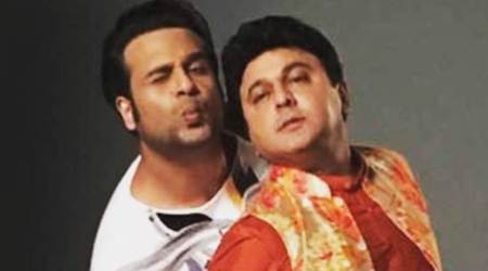 The Drama Company: Krushna Abhishek's fun moments with Ali Asgar hint that its first episode will be crazy. Seephotos