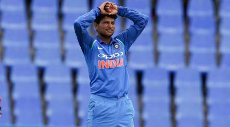 kuldeep yadav, india vs west indies, ind vs wi