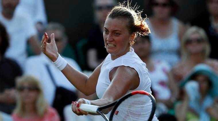 Wimbledon 2017, Petra Kvitova, Petra Kvitova Tennis, Petra Kvitova Wimbldeon, Tennis news, sports news, indian express