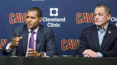 Kyrie Irving, Cleveland Cavaliers, Indian Express