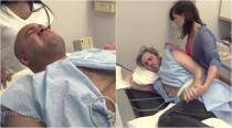WATCH: Two husbands try labour pain simulators to prove 'women exaggerate everything'; Hah!
