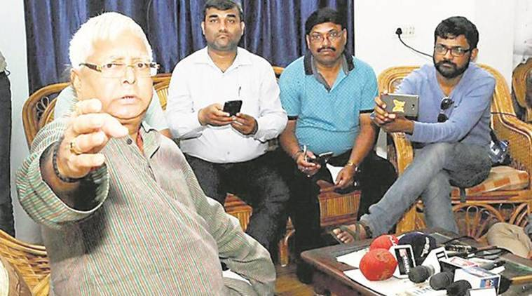 Fodder scam cases to keep Lalu away from politically troubled Patna