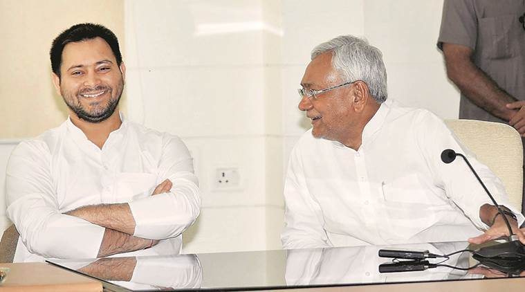 Bihar Grand alliance rift, tejashwi resignation row, nitish kumar, lalu prasad yadav, corruption charges