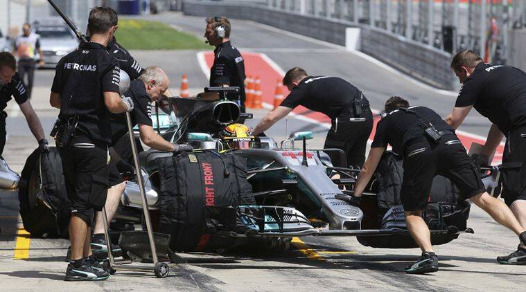 Lewis Hamilton, Austrian Grand Prix, Indian Express