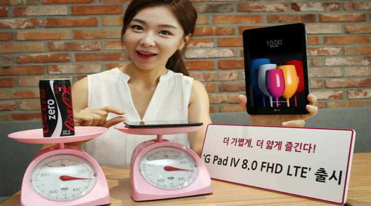 LG unwraps G Pad IV 8.0 FHD LTE Tablet in Korea