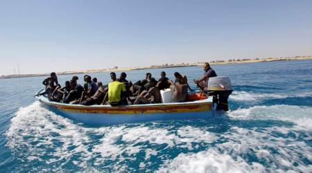 Spain rescues 250 migrants crossing the Mediterranean to Europe