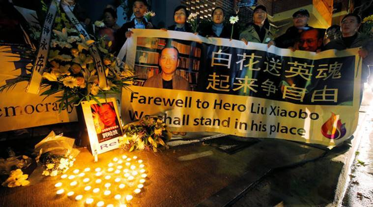Liu Xiaobo, Liu Xiaobo death, nobel Liu Xiaobo, china, hong kong, Liu Xiaobo jail, Nobel peace prize laureate Liu Xiaobo, latest news, latest world news