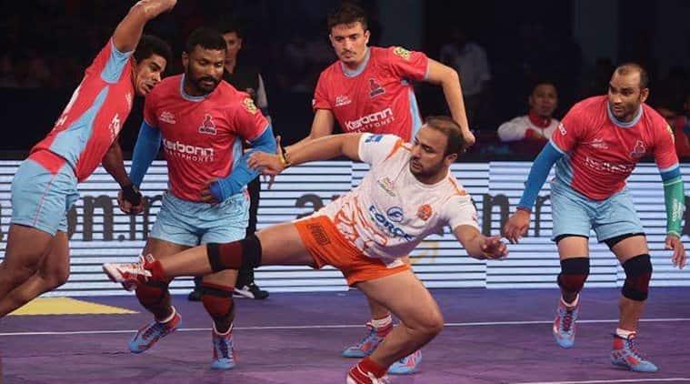 Pro Kabaddi Live, Pro Kabaddi League Live Score, PKL 2017 Live, Jaipur Pink Panther vs Dabang Delhi live, Jaipur vs Delhi live, Pro Kabaddi live streaming, pro kabaddi news, Indian Express
