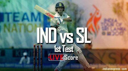 India vs Sri Lanka Live Score, 1st Test Day 1: India firm again as Cheteshwar Pujara gets ton against Sri Lanka