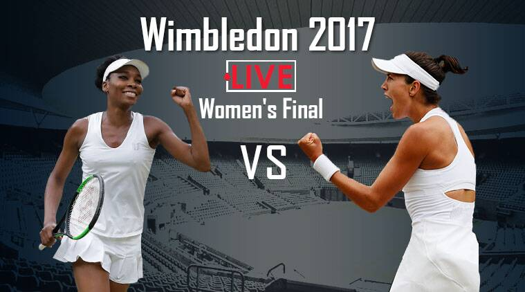 venus williams vs garbine Muguruza live, live venus williams vs garbine muguruza, wimbledon final live, venus vs muguruza live streaming, wimbledon live streaming, wimbledon final score, tennis news, sports news, indian express