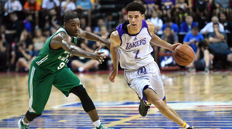 Lonzo Ball, NBA Summer league, LA Lakers, Philadelphia 76ers, Kobe Bryant, Cleveland, basketball news, sports news, indian express