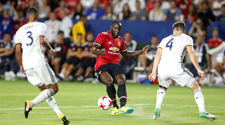 romelu lukaku, lulkaku, carrick, Michael Carrick, manchester united, united, old trafford, la galaxy, football, sports news, indian express