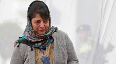 J-K CM Mehbooba Mufti holds public grievance redressal camp in south Kashmir
