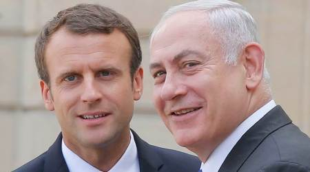 French President Emmanuel Macron shares Israel's concerns about Lebanon's Hezbollah