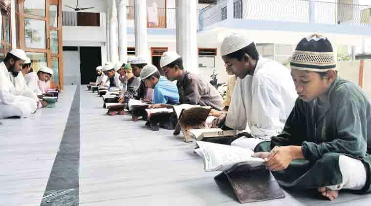 NCERT books madrassas, Yogi Adityanath, Uttar Pradesh Madrasa Board , Dinesh Sharma , ncert, up schools, up education, ncert books, madrassa, up madrassa, up school education, education news, indian express