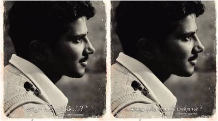 Here is Dulquer Salmaan's look as Gemini Ganesan in the Savitri biopic. See photo