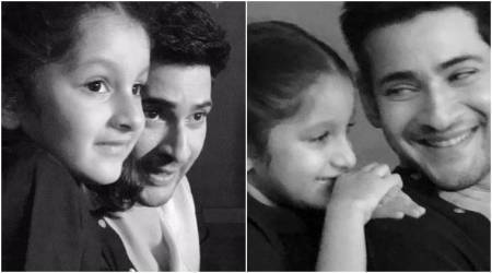 Mahesh Babu and daughter Sitara's pictures together highlight a different side of the actor. See photos