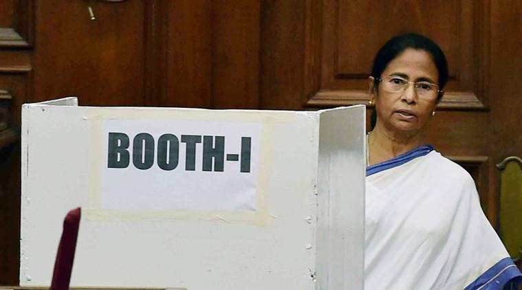 TMC lawmakers voted for Meira to register their protest:Mamata