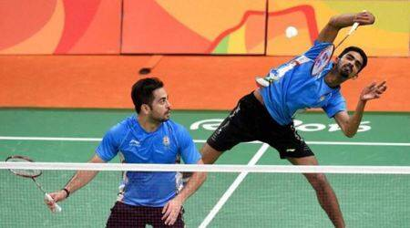 manu attri, b summeth reddy, h s prannoy, canada open grand prix, choi solgyu, jae hwan kim, badminton news, sports news, indian express