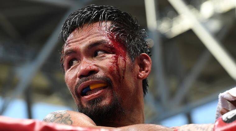 Manny Pacquiao, Manny Pacquiao vs jeff horn, Manny Pacquiao defeat, boxing news, sports news, indian express
