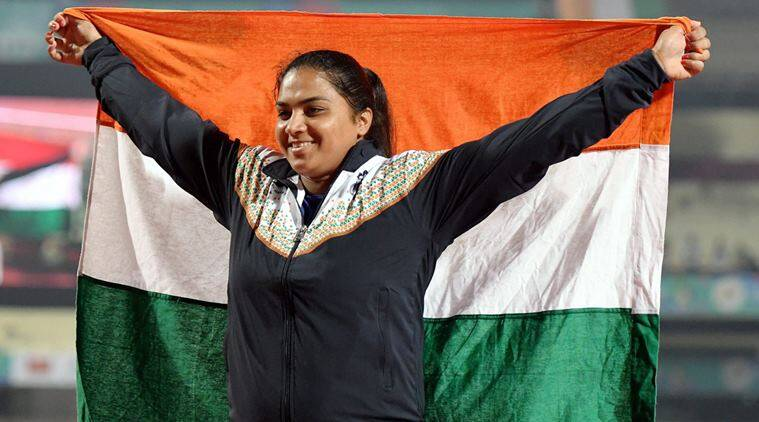 manpreet kaur, asian athletics championships, aac, shot put, manpreet, sports sponsorship, athletics, sports news, indian express