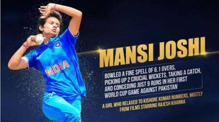 Sachin Tendulkar reveals his common interest with India World Cup team member Mansi Joshi