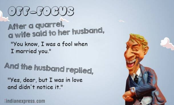marriage jokes, jokes on married life, jokes, wedding jokes, best marriage jokes, Indian Express, Indian Express News